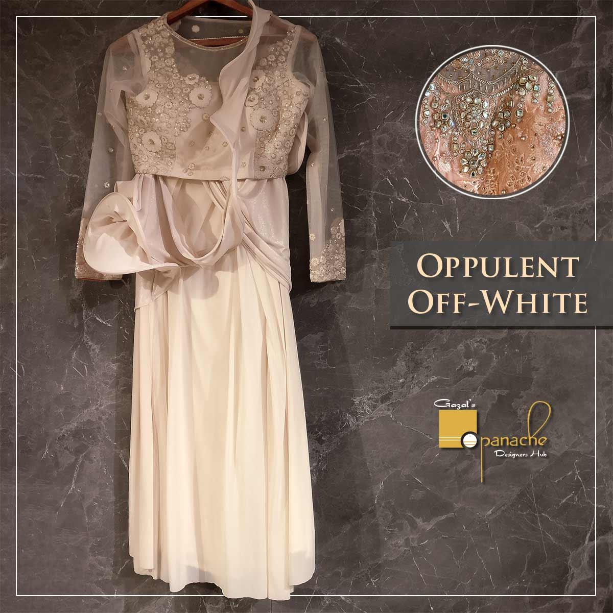 Opulent off white