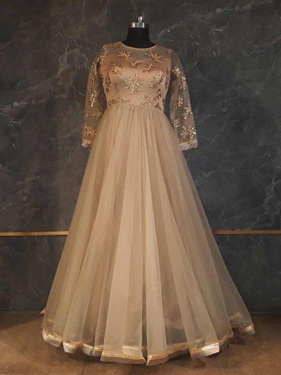 Dust Peach Gown
