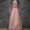 Lovender net Gown
