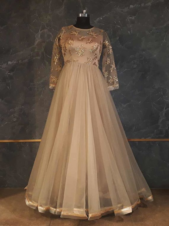 Dust Peach Gown
