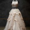 Creme Flare Gown