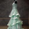 Sea green Gown